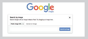 visually similar search - image - paste URL